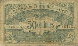 50 Centimes FRANCE régionalisme et divers AUCH 1914 JP.015.05