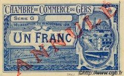 1 Franc FRANCE régionalisme et divers AUCH 1914 JP.015.08 SPL à NEUF