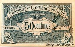 50 Centimes FRANCE régionalisme et divers AUCH 1916 JP.015.09 SPL à NEUF