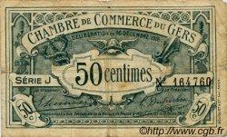50 Centimes FRANCE régionalisme et divers AUCH 1916 JP.015.09 TB