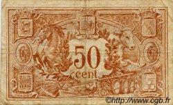 50 Centimes FRANCE régionalisme et divers AUCH 1918 JP.015.11 TB