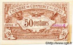 50 Centimes FRANCE régionalisme et divers Auch 1918 JP.015.13 SPL à NEUF