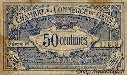 50 Centimes FRANCE régionalisme et divers Auch 1920 JP.015.18 TB