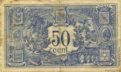 50 Centimes FRANCE régionalisme et divers AUCH 1920 JP.015.20 TB