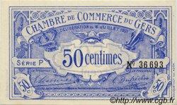 50 Centimes FRANCE régionalisme et divers AUCH 1921 JP.015.27 SPL à NEUF