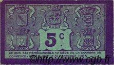 5 Centimes FRANCE régionalisme et divers AUCH 1918 JP.015.38 SPL à NEUF