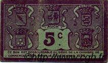 5 Centimes FRANCE régionalisme et divers Auch 1918 JP.015.38 TTB à SUP