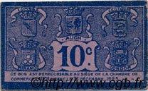10 Centimes FRANCE régionalisme et divers AUCH 1918 JP.015.39 TTB à SUP