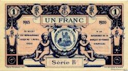 1 Franc FRANCE régionalisme et divers Aurillac 1915 JP.016.04 SPL à NEUF
