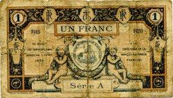 1 Franc FRANCE régionalisme et divers Aurillac 1915 JP.016.04 TB