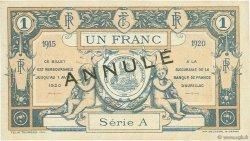 1 Franc FRANCE régionalisme et divers Aurillac 1915 JP.016.05 SPL à NEUF