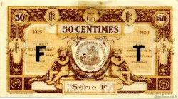 50 Centimes FRANCE régionalisme et divers AURILLAC 1915 JP.016.07 TTB à SUP