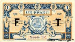 1 Franc FRANCE régionalisme et divers AURILLAC 1915 JP.016.08 SPL à NEUF