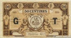 50 Centimes FRANCE régionalisme et divers AURILLAC 1915 JP.016.09 TB