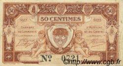 50 Centimes FRANCE régionalisme et divers Aurillac 1917 JP.016.12 TTB à SUP