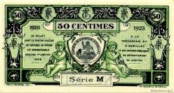 50 Centimes FRANCE régionalisme et divers AURILLAC 1920 JP.016.14 SPL à NEUF