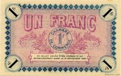 1 Franc FRANCE régionalisme et divers Auxerre 1915 JP.017.05 SPL à NEUF