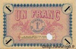 1 Franc FRANCE régionalisme et divers Auxerre 1915 JP.017.07 SPL à NEUF