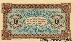50 Centimes FRANCE régionalisme et divers Auxerre 1916 JP.017.11 SPL à NEUF
