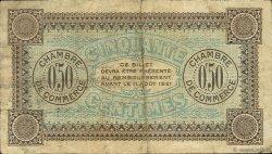 50 Centimes FRANCE régionalisme et divers Auxerre 1916 JP.017.11 TB