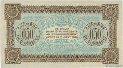 50 Centimes FRANCE régionalisme et divers AUXERRE 1916 JP.017.12 SPL à NEUF