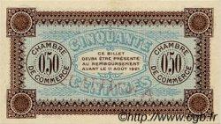 50 Centimes FRANCE régionalisme et divers AUXERRE 1916 JP.017.13 SPL à NEUF