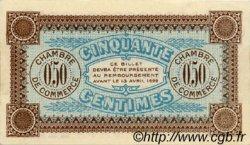 50 Centimes FRANCE régionalisme et divers Auxerre 1917 JP.017.14 TTB à SUP
