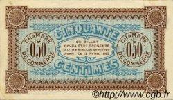 50 Centimes FRANCE régionalisme et divers AUXERRE 1917 JP.017.16 SPL à NEUF