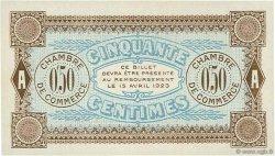50 Centimes FRANCE régionalisme et divers AUXERRE 1920 JP.017.20 SPL à NEUF