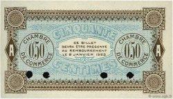 50 Centimes FRANCE régionalisme et divers AUXERRE 1920 JP.017.21 SPL à NEUF
