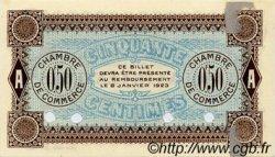 50 Centimes FRANCE régionalisme et divers AUXERRE 1920 JP.017.21 TTB à SUP
