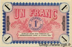 1 Franc FRANCE régionalisme et divers AUXERRE 1920 JP.017.22 SPL à NEUF