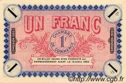 1 Franc FRANCE régionalisme et divers AUXERRE 1920 JP.017.26 SPL à NEUF