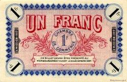 1 Franc FRANCE régionalisme et divers AUXERRE 1921 JP.017.30 SPL à NEUF