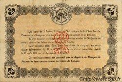 2 Francs FRANCE régionalisme et divers Avignon 1915 JP.018.08 TTB à SUP