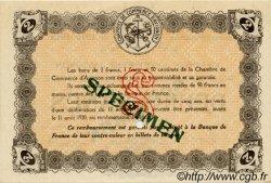 2 Francs FRANCE régionalisme et divers AVIGNON 1915 JP.018.12 SPL à NEUF