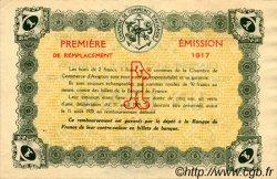 1 Franc FRANCE régionalisme et divers Avignon 1915 JP.018.17 TTB à SUP