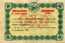 50 Centimes FRANCE régionalisme et divers Avignon 1920 JP.018.22 TB