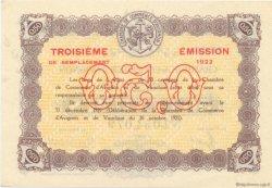 50 Centimes FRANCE régionalisme et divers Avignon 1922 JP.018.26 SPL à NEUF