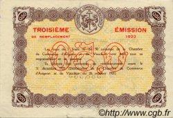 50 Centimes FRANCE régionalisme et divers AVIGNON 1922 JP.018.26 TTB à SUP