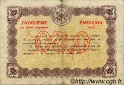 50 Centimes FRANCE régionalisme et divers AVIGNON 1922 JP.018.26 TB