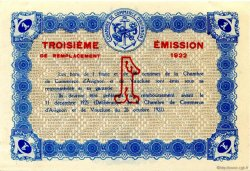 1 Franc FRANCE régionalisme et divers Avignon 1922 JP.018.29 SPL à NEUF