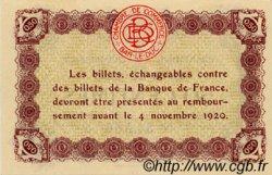 50 Centimes FRANCE régionalisme et divers BAR-LE-DUC 1918 JP.019.01 SPL à NEUF
