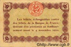 50 Centimes FRANCE régionalisme et divers Bar-Le-Duc 1918 JP.019.01 TTB à SUP
