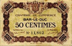 50 Centimes FRANCE régionalisme et divers Bar-Le-Duc 1920 JP.019.01 TB