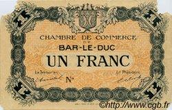 1 Franc FRANCE régionalisme et divers BAR-LE-DUC 1918 JP.019.04 TB