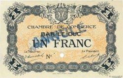 1 Franc FRANCE régionalisme et divers BAR-LE-DUC 1920 JP.019.05 SPL à NEUF