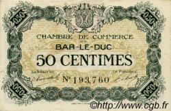 50 Centimes FRANCE régionalisme et divers BAR-LE-DUC 1918 JP.019.07 TTB à SUP
