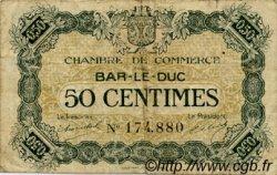 50 Centimes FRANCE régionalisme et divers Bar-Le-Duc 1920 JP.019.07 TB
