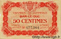 50 Centimes FRANCE régionalisme et divers BAR-LE-DUC 1917 JP.019.09 TB